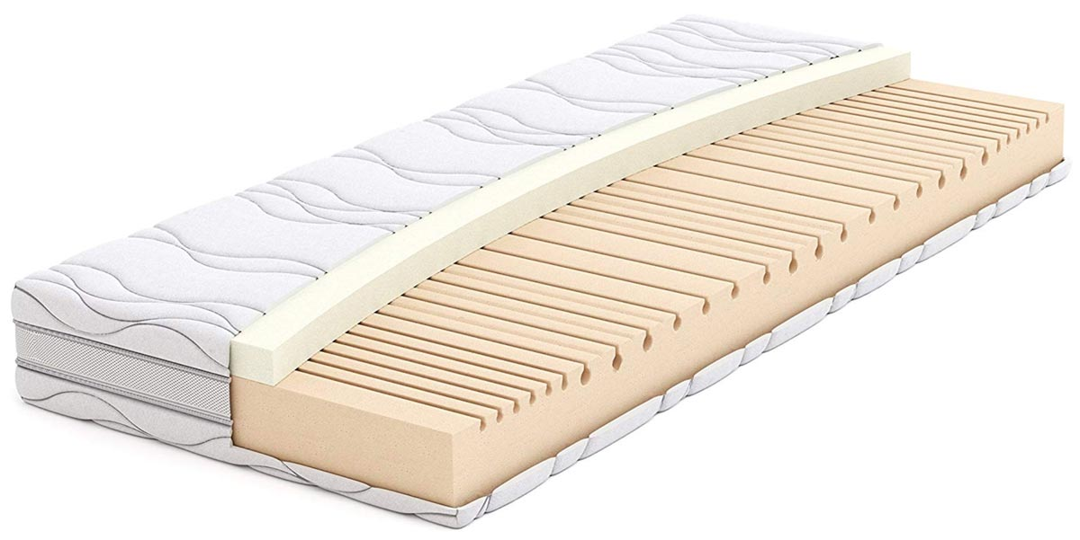 AmazonBasics materasso memory foam